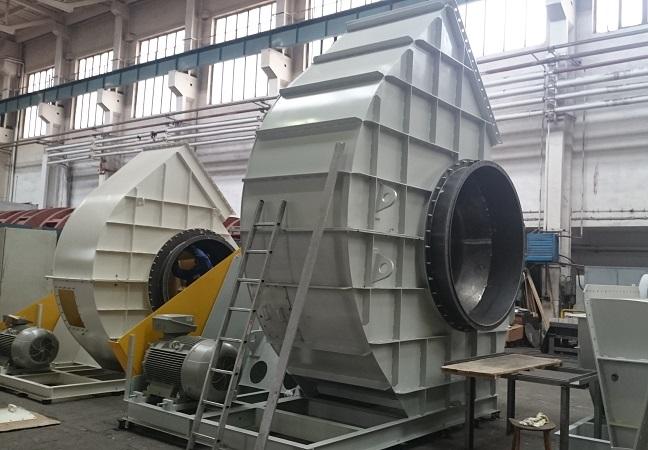 Zkušební montáž ventilátoru