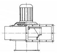 Radiální ventilátor RSK 400