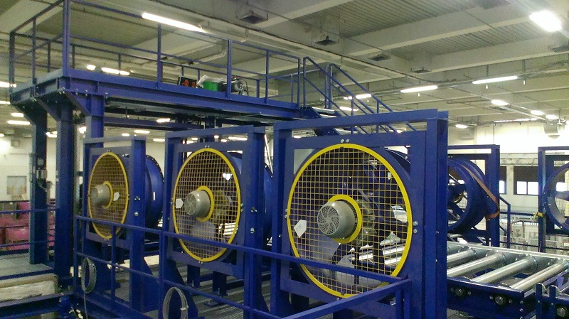 Assembly of annealing furnace
